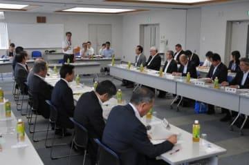 国、県への提言について話し合った県副市長会議