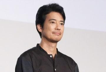 劇場版アニメ「トイ・ストーリー4」のヒット記念舞台あいさつに登場した唐沢寿明さん