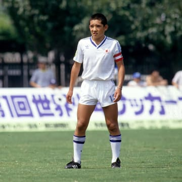 1986年第1回世界少年サッカー大会の伊東輝悦選手