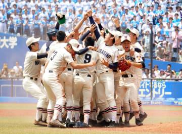 【夏の高校野球千葉大会 習志野高校が優勝】