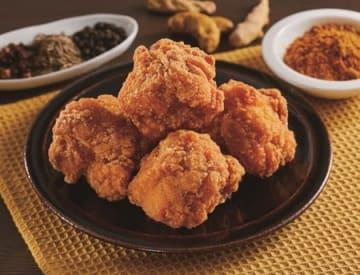 せきとりが監修したローソンの「鶏から 香味咖喱」