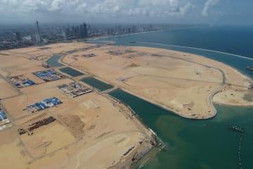 中国と共同開発のコロンボ・ポートシティー、スリランカの開放型経済建設を後押し