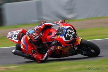 トップタイムのNo.33 Red Bull Honda