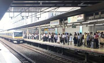ホームドアの設置が決まったJR南武線武蔵小杉駅