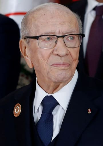 死去したチュニジアのベジ・カイドセブシ大統領(ロイター=共同)