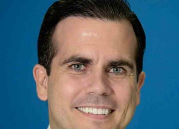 Official portrait of Puerto Rico Gov. Ricardo Rossello