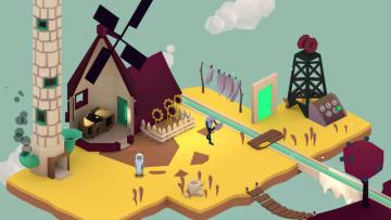 ゲームの不具合を直すパズルADV『Playerless: One Button Adventure』トレイラー公開