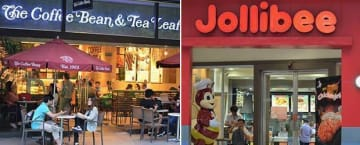 The Philippines' largest fast-food chain Jollibee Foods Corp. (JFC) will take over American coffee chain Coffee Bean & Tea Leaf.