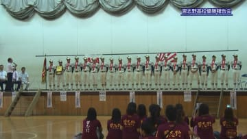 習志野高校硬式野球部 母校で夏の大会の優勝を報告