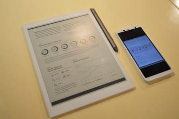 電子ペーパー「QUADERNO(クアデルノ)」が販路拡大&機能アップデート&価格改定