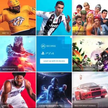 『BFV』や『STAR WARS バトルフロント II』『FIFA 19』などが遊び放題の「EA Access」国内PS4向けのサービスが開始