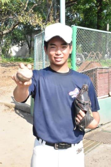 日本代表として世界少年野球大会に出場する庄田聡史さん