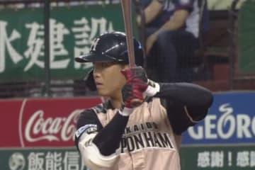 プロ1号をマークした日本ハム・平沼翔太【画像:(C)PLM】