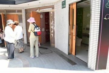リニューアルした下石井公園のトイレ