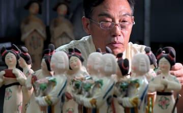 唐三彩の伝統的な焼成技術を「復活」 河南省の伝承人、高水旺さん