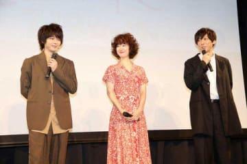 連続ドラマ「凪のお暇」に出演する(左から)中村倫也さん、黒木華さん、高橋一生さん