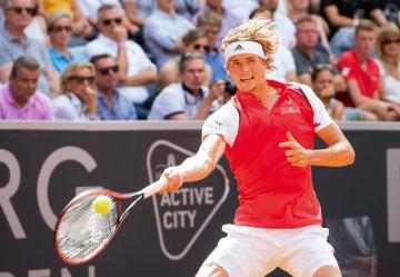 「ATP500 ハンブルク」でのズベレフ