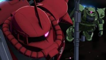 テレビアニメ「機動戦士ガンダム THE ORIGIN 前夜 赤い彗星」の第11話「ルウム会戦」の一場面(C)創通・サンライズ
