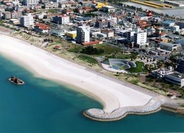 沖縄県北谷町のアラハビーチ