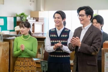 NHK連続テレビ小説「なつぞら」第104回の一場面(C)NHK