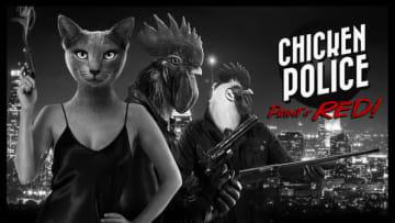 頭が動物のノワールADV『Chicken Police』ティーザートレイラー! チキン刑事コンビの活躍描く