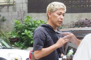 東京都内の老人ホームに現れた田村亮を直撃した。