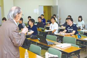 登別の自然の豊かさなどを認識した教職員初任者研修会