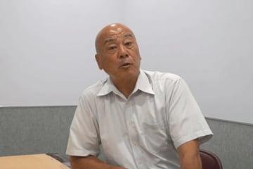 パ・リーグで約30年審判員を務めた山崎夏生氏【写真:編集部】