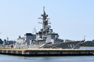 護衛艦「むらさめ」=横須賀地方総監部