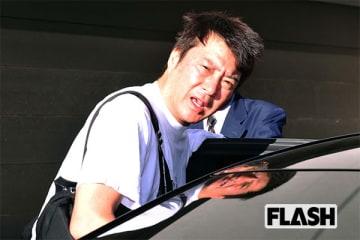 7月26日朝、自宅を出てきた加藤を直撃。顔に疲れが