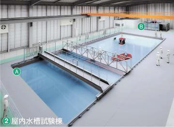 大水槽の完成イメージ(福島イノベーション・コースト構想推進機構提供)
