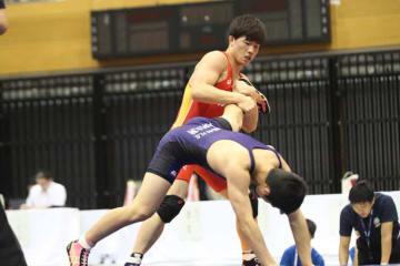 ▲71kg級・佐藤匡記(東京・帝京/JWA)