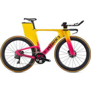 Gloss Golden Yellow/Vivid Pink/Satin Black