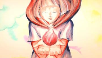写真を拡大 米津玄師さんバージョンの「パプリカ」に合わせて加藤隆さんが制作したアニメーションの一場面