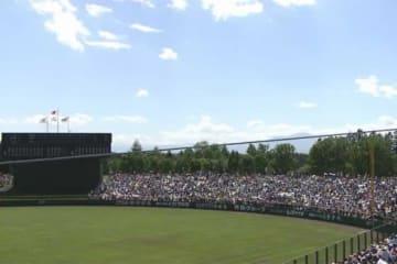 日本ハムが主催試合を行う北海道・帯広の森野球場【画像:パーソル パ・リーグTV】