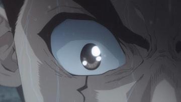 TVアニメ『Dr.STONE』第5話先行カット(C)米スタジオ・Boichi/集英社・Dr.STONE製作委員会