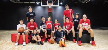 アンダーアーマー、バスケットボール男子日本代表の新作アイテム発売