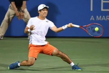 「ATP500 ワシントンD.C.」での西岡