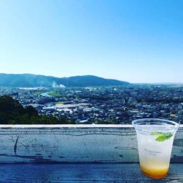 足羽山デッキから見える福井の街