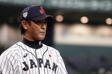 侍ジャパンを指揮する稲葉監督【写真:Getty Images】