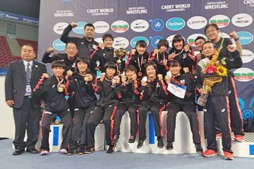 6年連続優勝を達成した女子チーム