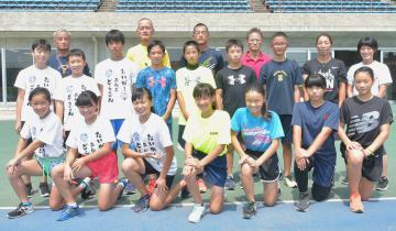 本県選手団