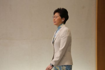Chief Executive Carrie Lam. File photo: inmediahk.net.