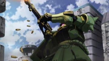 テレビアニメ「機動戦士ガンダム THE ORIGIN 前夜 赤い彗星」の第12話「赤い彗星のシャア」の一場面(C)創通・サンライズ