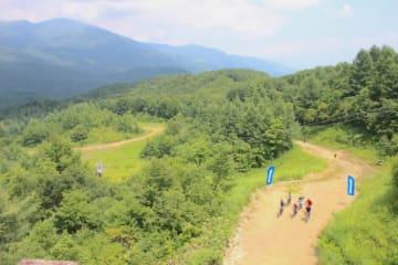 これまでウィンターシーズンのみしか開かれなかった、岩岳の西側のゲレンデを使用する「Panasoinc コース」