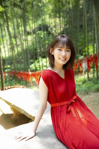 ファースト写真集を9月25日発売にする「欅坂46」の小池美波さん 撮影/阿部ちづる