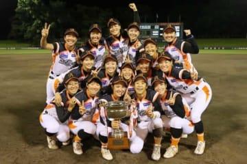 ティアラカップで優勝した埼玉アストライア【写真提供:日本女子プロ野球リーグ】
