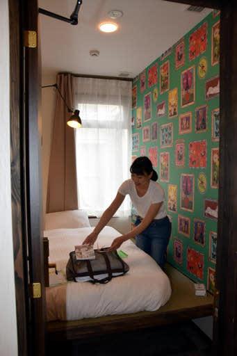 定額制で利用できるホステルの客室