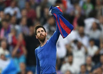 Lionel Messi scores 500th goal for Barcelona vs. Real Madrid (game-winner)