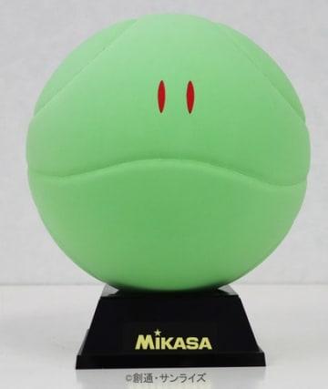 「ガンダム」シリーズのハロをモチーフにしたボール「『機動戦士ガンダム』ハロボール」(C)創通・サンライズ(C)MIKASA